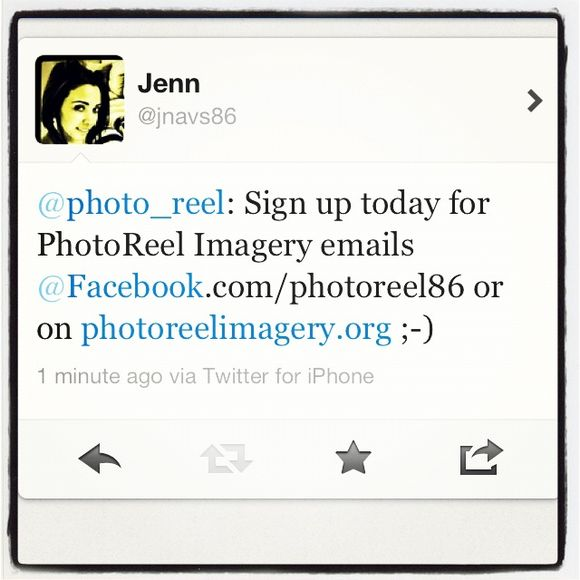 Sign up for PhotoReel!